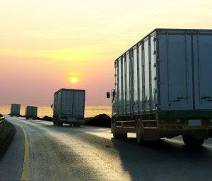 Camión por carretera