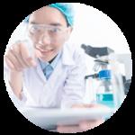 Ensayo en laboratorios